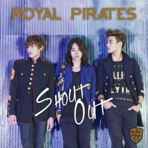 """Album art for Royal Pirates's album """"Shout Out"""""""
