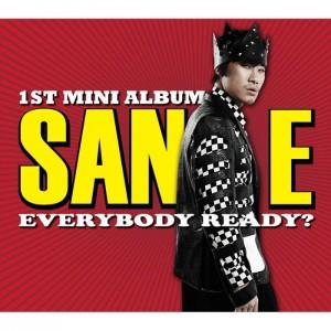 """Album art for San.E's album """"Everybody Ready?"""""""