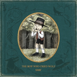 "Album art for San.E's album ""The Boy Who Cried Wolf"""
