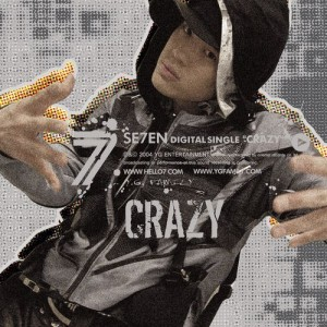 "Album art for Se7en's album ""Crazy"""