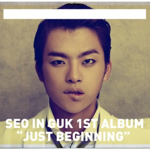"Album art for Seo In Guk's album ""Just Beggining"""