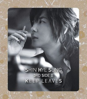 "Album art for Shin Hye-Sung (Shinhwa)'s album ""Keep Leaves"""