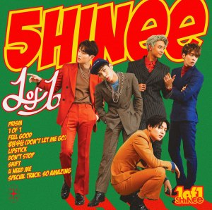 "Album art for SHINee's album ""1 of 1"""