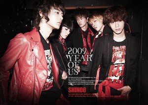 "Album art for SHINee's album ""2009, Year Of Us"""