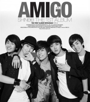 "Album art for SHINee's album ""A.Mi.Go"""