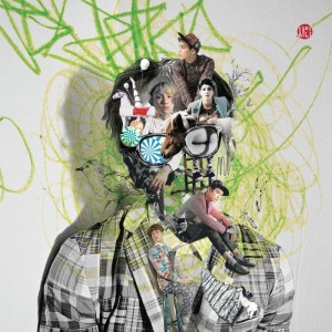 "Album art for SHINee's album ""Dream Girl: The Misconceptions Of You"""