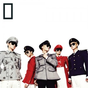 "Album art for SHINee's album ""Everybody"""