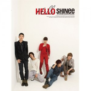 "Album art for SHINee's album ""Hello"""