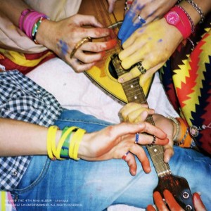 "Album art for SHINee's album ""Sherlock"""