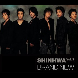 "Album art for Shinhwa's album ""Brand New"""