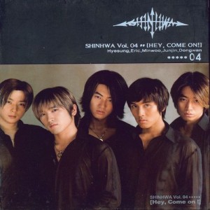 "Album art for Shinhwa's album ""Hey, Come On!"""