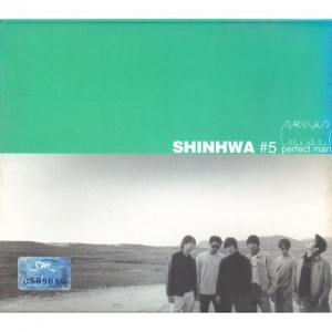 "Album art for Shinhwa's album ""Perfect Man"""