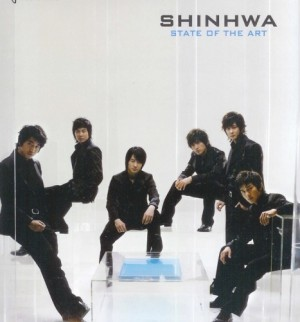 "Album art for Shinhwa's album ""State Of The Art"""