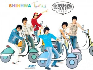 "Album art for Shinhwa's album ""Summer Story 2005"""