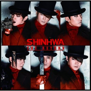 "Album art for Shinhwa's album ""The Return"""