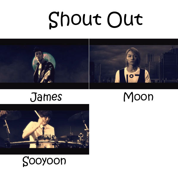 "The members of Royal Pirates in the ""Shout Out"" MV"
