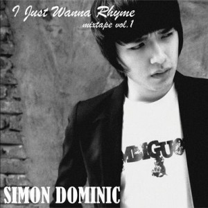 "Album art for Simon D's album ""I Just Wanna Rhyme Vol. 1"""
