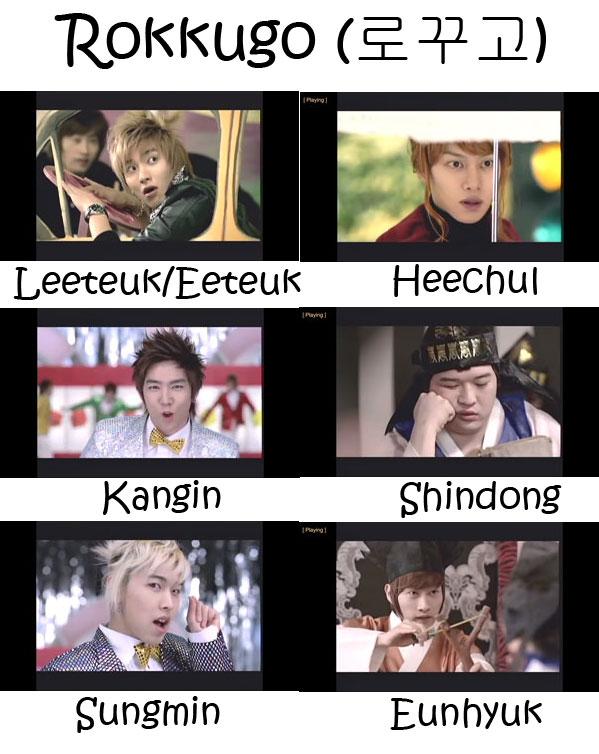 """The members of Super Junior's sub-unit Super Junior -T in the """"Rokkugo"""" MV"""