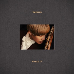"Album art for Taemin's album ""Press It"""