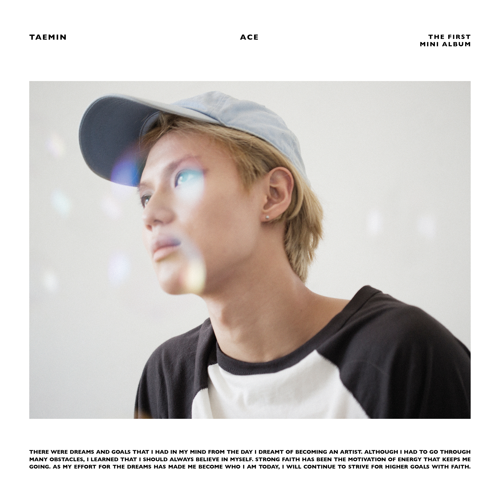 Taemin Ace Whos Album Cover