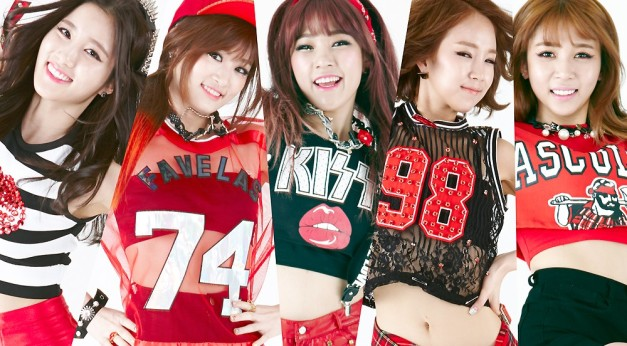 "Tahiti's ""You're Mine Oppa"" promotional picture."
