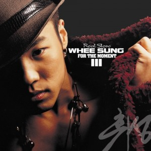 "Album art for Wheesung's album ""For The Moment"""