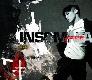 """Album art for Wheesung's album """"Insomnia"""""""