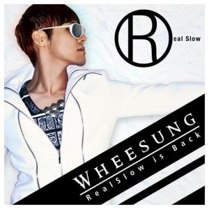 "Album art for Wheesung's album ""Realslow Is Back"""