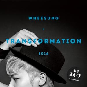 "Album art for Wheesung's album ""Transformation"""