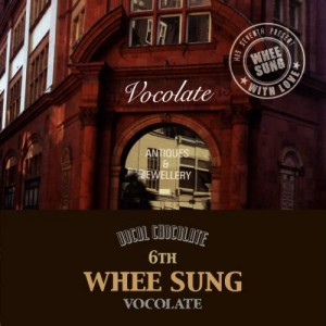 """Album art for Wheesung's album """"Vocolate"""""""