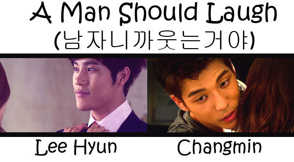 "The members of HOMME in the ""A Man Should Laugh"""