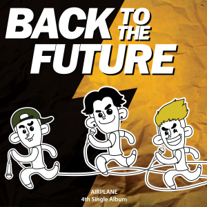 "Album art for Airplane's album ""Back To The Future"""