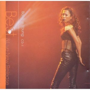 "Album art for Baek Ji Young's album ""Baek Ji Young Best & Live"""