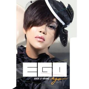 "Album art for Baek Ji Young's album ""Ego"""