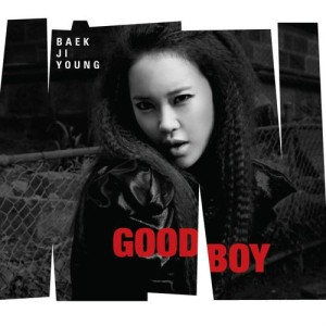 "Album art for Baek Ji Young's album ""Good Boy"""