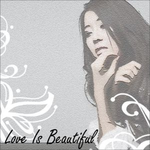 "Album art for Baek Ji Young's album ""Love Is Beautiful"""