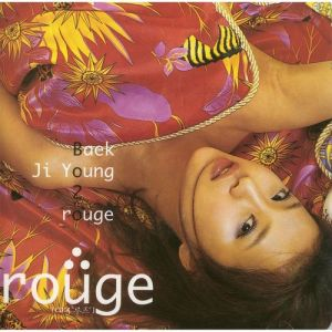 "Album art for Baek Ji Young's album ""Rouge"""