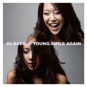"Album art for Baek Ji Young's album ""Smile Again"""