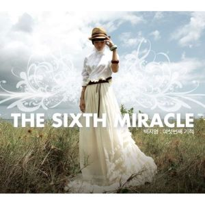 "Album art for Baek Ji Young's album ""The Sixth Miracle"""