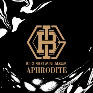 "Album art for B.I.G's album ""Aphrodite"""