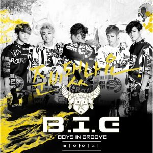 "Album art for B.I.G's album ""Are You Ready"""