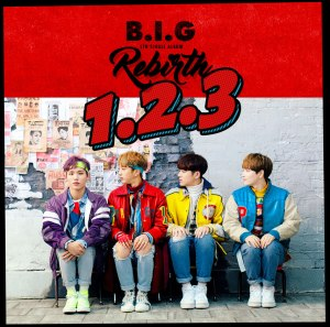 "Album art for B.I.G's album ""B.I.G Rebirth"""