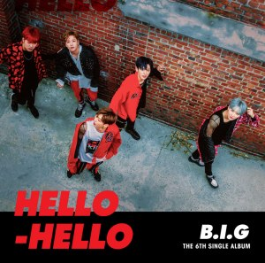 "Album art for B.I.G's album ""Hello Hello"""