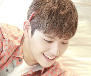 "C-Clown's Kangjun ""Let's Love"" promotional picture."