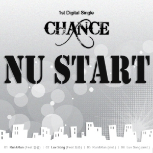 "Album art for Chance's album ""Nu Start"""