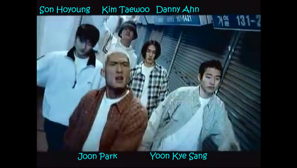 """The members of g.o.d in the """"Dear Mother"""" MV"""