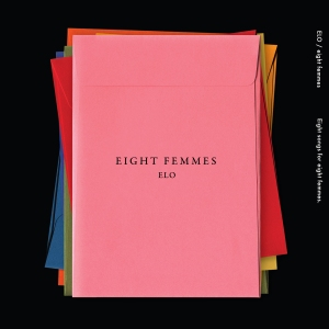 "Album art for ELO's album ""Eight Femmes"""