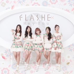 "Album art for Flashe's album ""Hey You"""