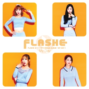 "Album art for Flashe's album ""My Day"""