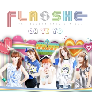 "Album art for Flashe's album ""Oh Ye Yo"""
